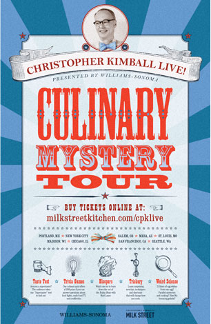 Culinary Mystery Tour Poster